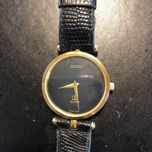 Authentic Vintage Gucci Men's Watch